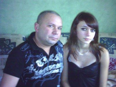 mon papa et mwa :)