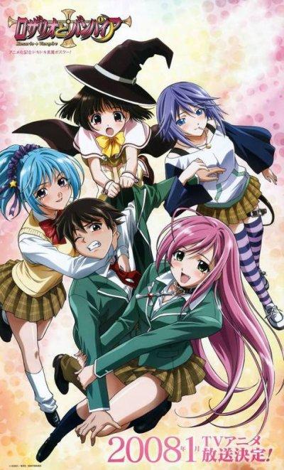 Puis avec mon quatorzième mangas quand j'avais 14 ans et c'était Rosario+Vampire