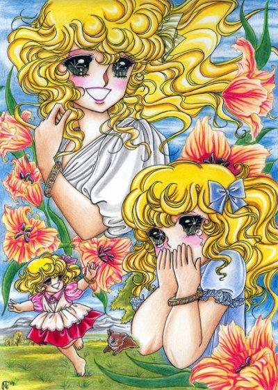 Puis avec mon vingtième une ème mangas quand j'avais 14 ans et c'était Lady Georgie