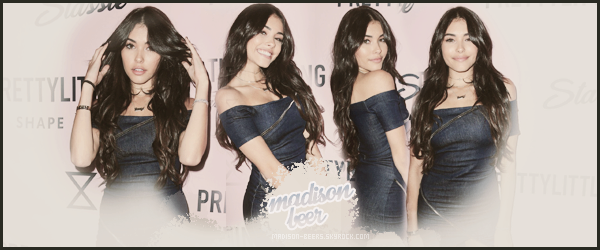 - • • Bienvenue sur Madison-Beers, ta source d'actualité sur la célèbre Madison Beer ! Suis toute l'actualité quotidienne de la chanteuse Madison Beer sur ce blog, à travers de candids, events, shoots, interviews. -
