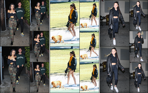 - 17/04/2018 : Madison Beer a été photographiée lorsqu'elle était avec Zack Bia pour aller dîner à Santa Monica. Le 18/04, Madi promenait son chien avec des amis à LA ! Le 19/04, MB quittait le « Dave Chappelle's Secret Show » à West Hollywood ! -