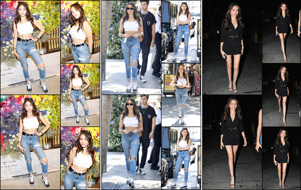 - 02/06/2018 : La'belle Madison Beer était présente au « thedropLA@barneys » qui se déroulait à Beverly Hills. Dans la journée, Madison B. quittait le restaurant « Il Pastaio » à Beverly Hills'!'Plus tard, Madi arrivait au « Delilah » à West Hollywood. -
