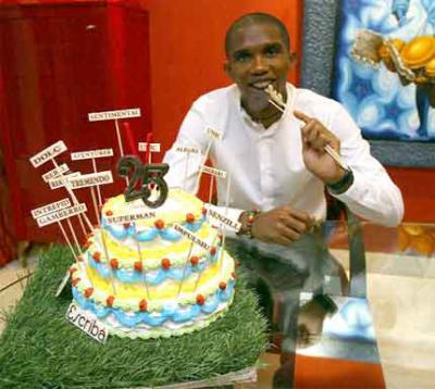 Actualite Joyeux Anniversaire Samuel Eto O 25 Ans Bien Remplis