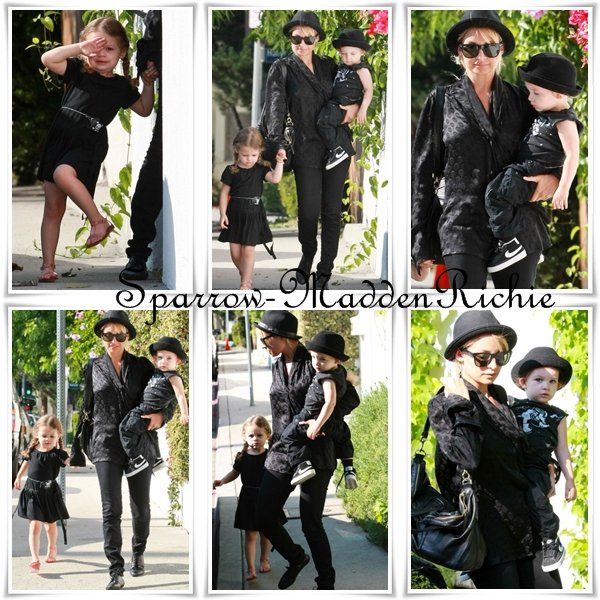 Nicole Richie & Kids
