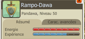 Panda lvl 50