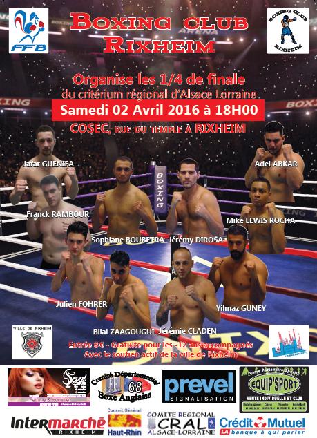 Gala du 2 Avril 2016