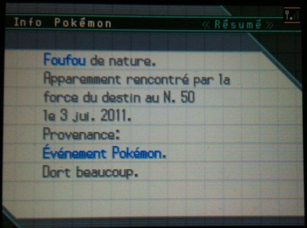 Pokémon event francais de cette été !