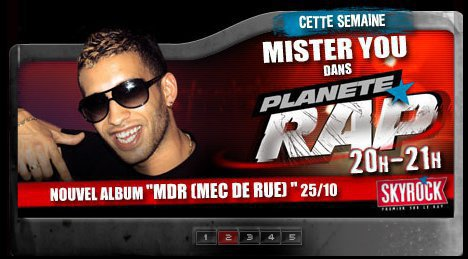 Mister You à Planète Rap !!