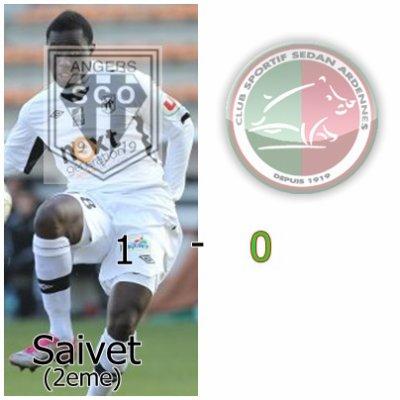 Sedan 0 - 1 Angers