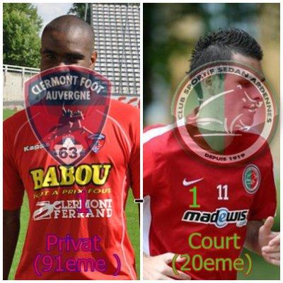 Clermont 1 - 1 Sedan : :((((