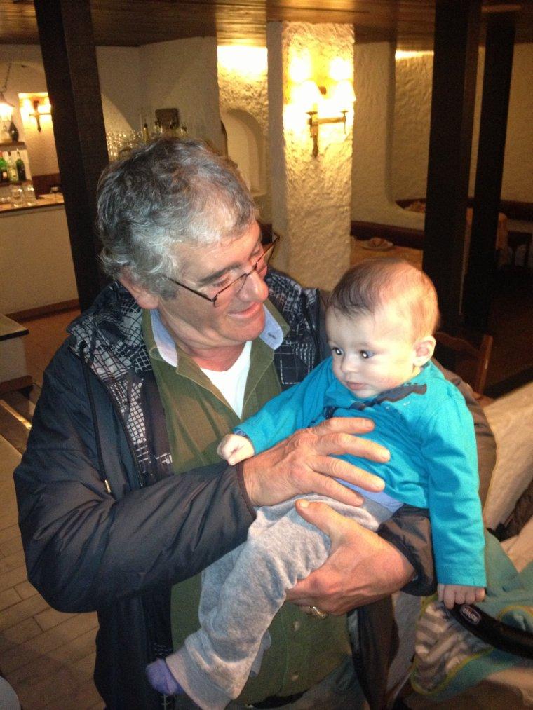 Papi Xavier et moi