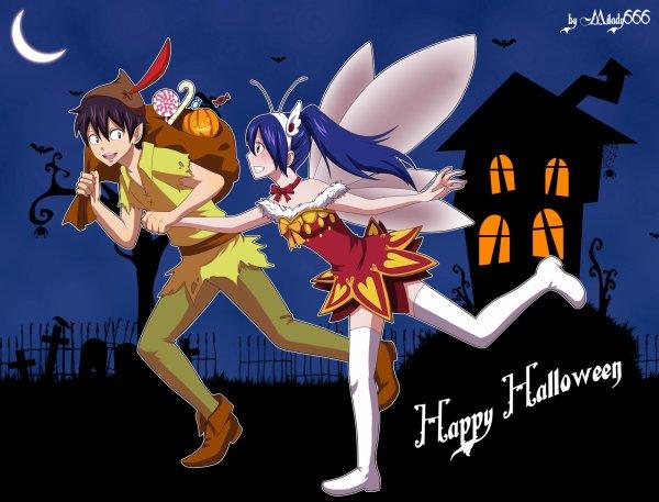 Drabble spéciale Halloween: Drabble 1: Rowen
