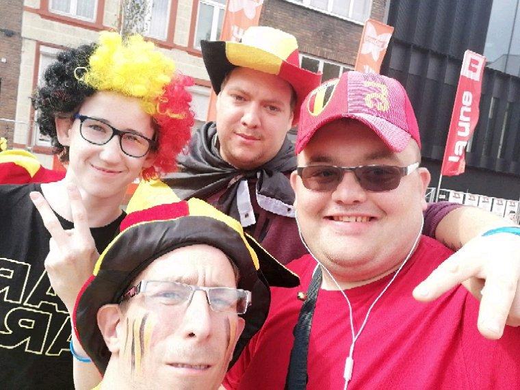 Match de coupe du monde Belgique vs Palamas ce lundi 18/06/2018 a Charleroi place de la dingue