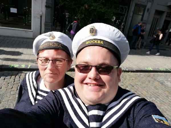 sortie a tournai ce dimanche 9/09/2018 avec la marine imperial russe de jumet