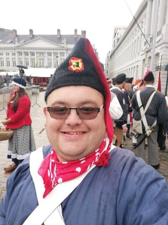 Commémoration 1830 a Bruxelles  pour les 188 ans de la naissance de la Belgique ce samedi 22/09/2018