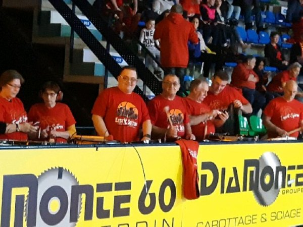 Ce samedi 16/02/2019 Derby  belfus mons Hainaut vs Spirou Charleroi