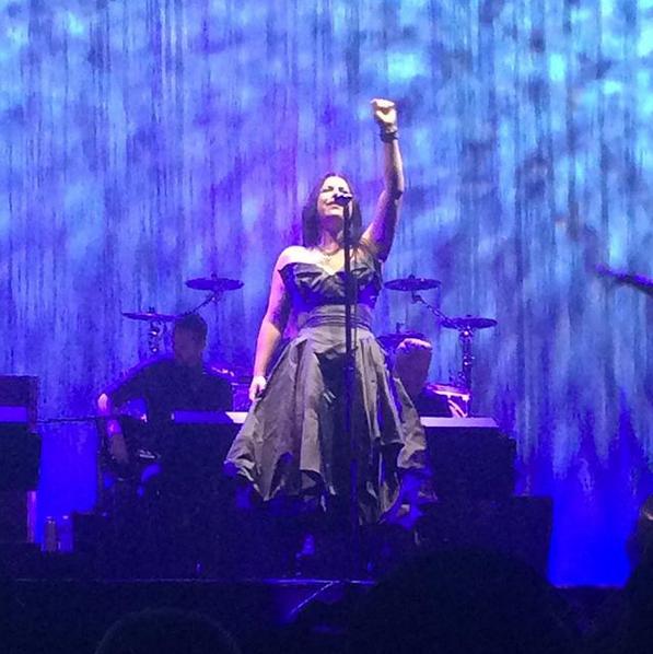 Evanescence, 28.03.18, Paris, Grand Rex. 7 ans après leur dernier passage en France, le groupe d'Amy a donné mercredi dernier un concert exceptionnel.