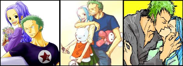 Le plus beau couple de One Piece (Pour moi)