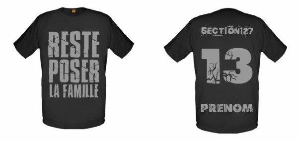 Tee-Shirts  Noir  -- Parti 1