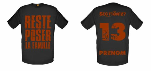 Tee-Shirts  Noir  -- Parti 2