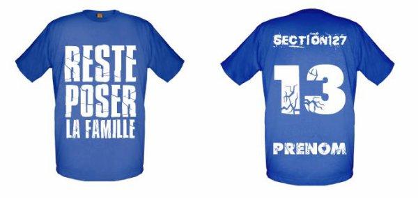 Tee-Shirts  Bleu Royal -- Parti 1