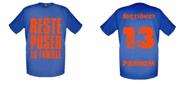 Tee-Shirts Bleu Royal -- Parti 2