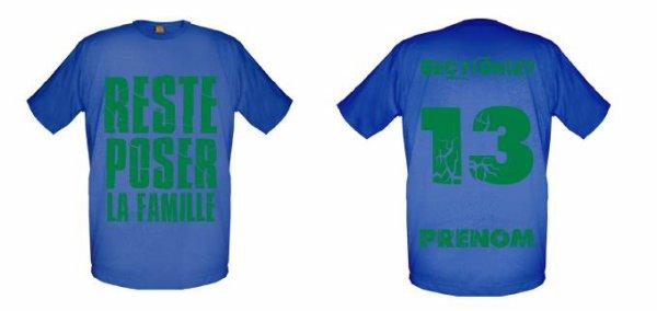 Tee-Shirts  Bleu Royal -- Parti 3