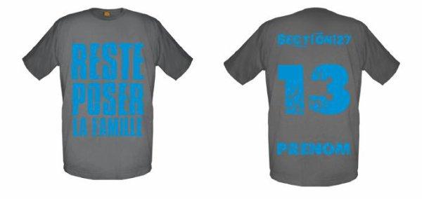 Tee-Shirts Gris -- Parti 1