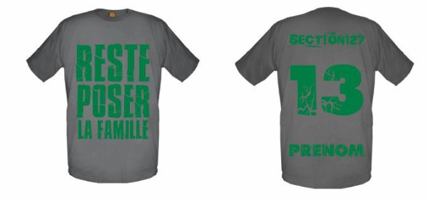 Tee-Shirts Gris -- Parti 3