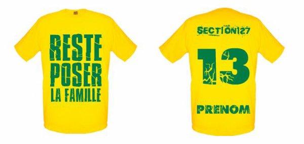 Tee-Shirts  Jaune -- Parti 3