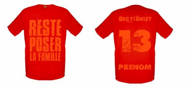 Tee-Shirts Rouge -- Parti 2