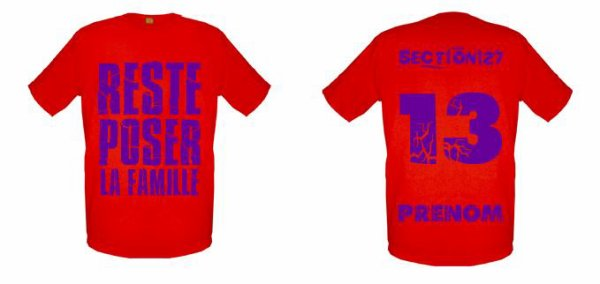 Tee-Shirts  Rouge -- Parti 3