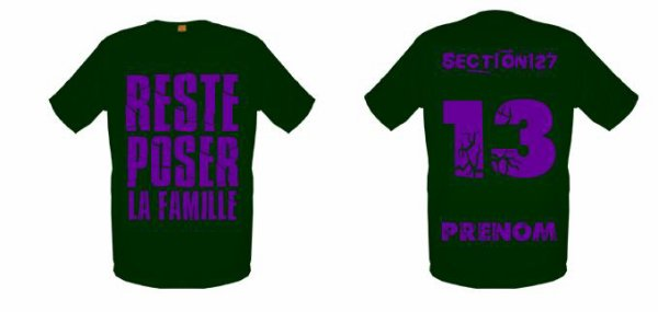 Tee-Shirts  Vert Kaki -- Parti 3