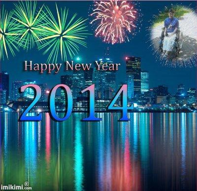 bonne annee 2014