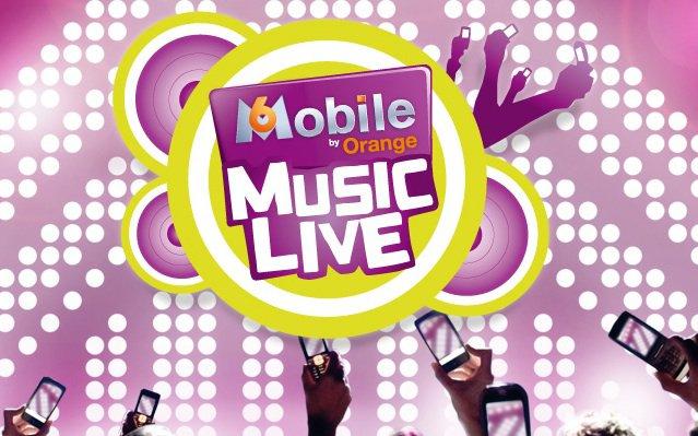 M6 mobile music live