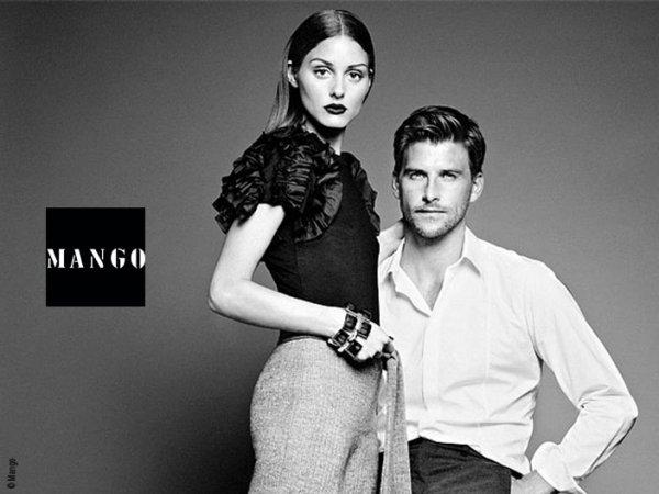 Olivia est le nouveau visage de la célèbre marque espagnol Mango !