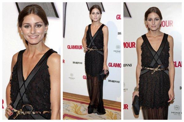 """Ce 11 Novembre, Olivia s'est rendu au """" Top Glamour 2010"""" en Espagne.  Elle est tout simplement Magnifique selon moi, & sa Robe, Quel magnfique et parfaite """"petite"""" robe noire :)"""