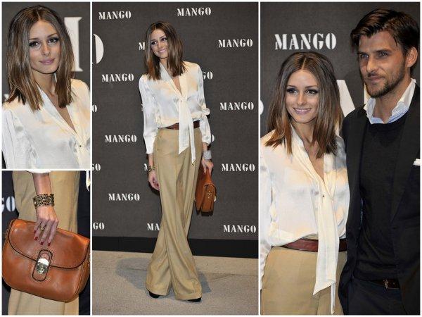 """Olivia au  """"Mango Fashion Show"""" le 16 Novembre ♥ Elle été plus belle et épanouie que jamais . Une tenue simple mais sublime. A copier ! ;)"""