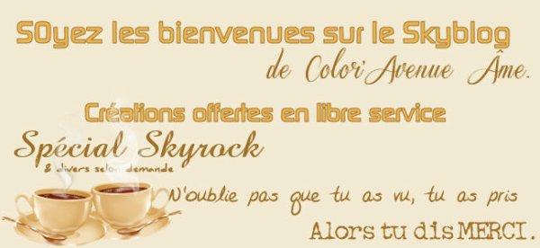 Accueil & Livre d'or.