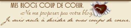 """Mes blogs """"Coup de coeur""""."""