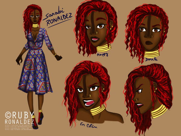 Planche character design