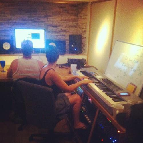 Selena été dans les studio d'enregistrement pour son nouvel album