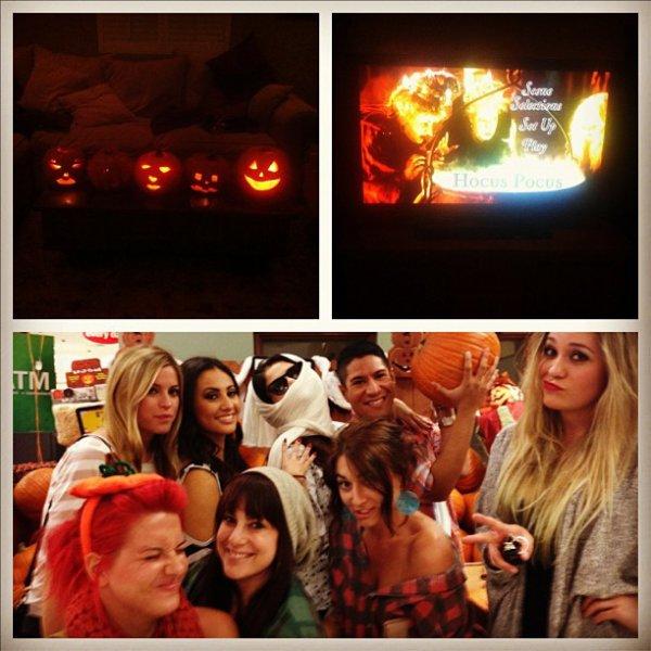 Selena gomez fêtant Halloween