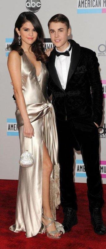 Selena et Justin , ensemble pour la cérémonie de American Music Awards 2012 !