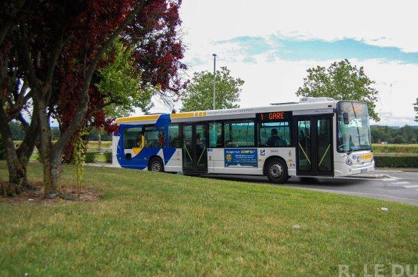 Bus 64 après l'arrêt Charlemagne