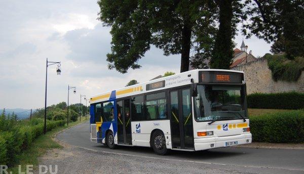 Bus 56 en déviation par la Couloire