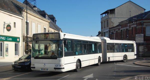 """De nouveau le 66, cette fois-ci à la sortie de l'arrêt """"Place d'Ardon"""""""