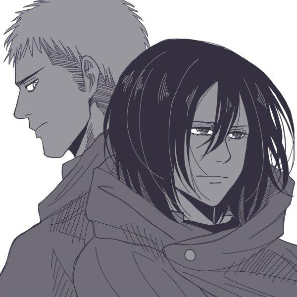 os: Jean x Mikasa