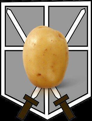 [gros délire]Nouveaux corps d'armée : La légion des patates de la la justice *-*