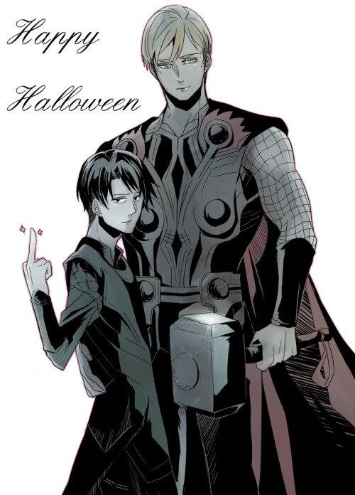 Joyeuse fête d'halloween partie 1